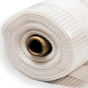 POLYTHENE CLEAR PLASTIC SHEETING FOR GARDEN WEEDS GRAVEL DIY METERIAL 250GAUGE